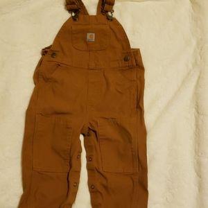 Carhartt Infant Bib Overalls  - size 18M